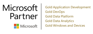 Microsoft Gold Partner – application development, DevOps, data platform and analytics, Windows and devices